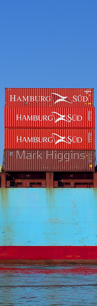Hamburg Sud on the Yarra  by Mark Higgins