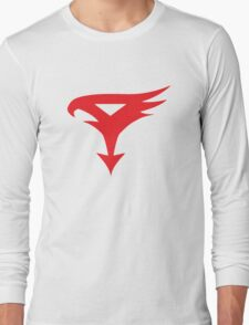 The Team - Gatchaman Superhero Logo Long Sleeve T-Shirt