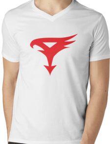The Team - Gatchaman Superhero Logo Mens V-Neck T-Shirt