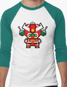 Mekkachibi Mekanda Robo Men's Baseball ¾ T-Shirt