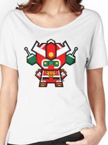 Mekkachibi Mekanda Robo Women's Relaxed Fit T-Shirt