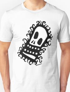Burning Skull V2 Unisex T-Shirt