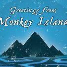 Greetings from Monkey Island by severodan