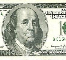 100 dollar bill by Meje