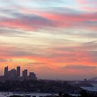 Sydney Skyline Dusk by Jeffrey So