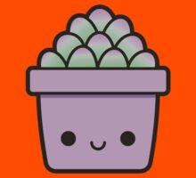 Succulent in cute pot Kids Tee