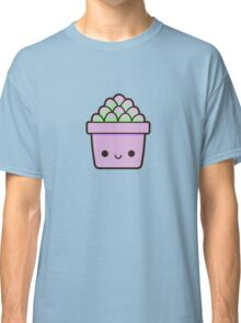 Succulent in cute pot Classic T-Shirt