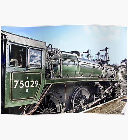 The Green Knight Locomotive Poster