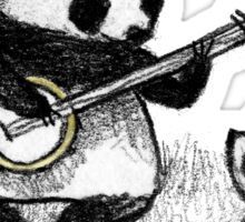 Banjo Panda Sticker
