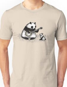 Banjo Panda Unisex T-Shirt