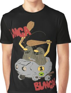 CAVEMAN Car : Unga Bunga version Graphic T-Shirt