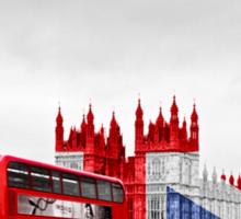 Big Ben and Union Jack Sticker