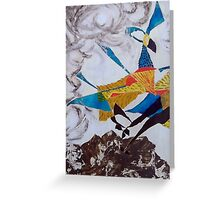 Just about to take flight Greeting Card