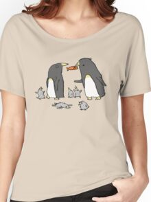Penguin Family Women's Relaxed Fit T-Shirt