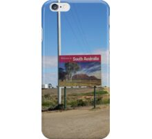 AUSTRALIA OUTBACK iPhone Case/Skin