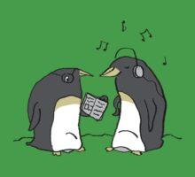 Waiting Penguins One Piece - Short Sleeve