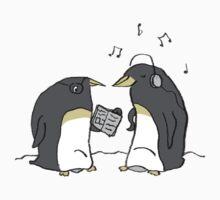 Waiting Penguins One Piece - Long Sleeve