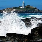 Godrevy Splash by Paul Howarth