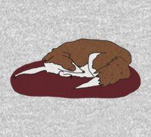 Sleeping Collie Kids Tee