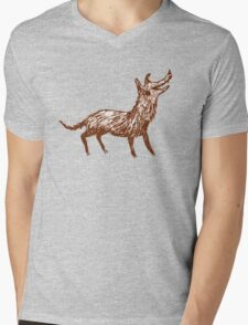 Mongrel Mens V-Neck T-Shirt