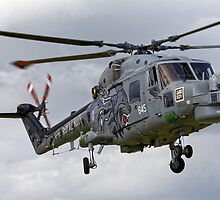 RN Westland Lynx HMA.8 DSP 'The Black Cats' by Andrew Harker