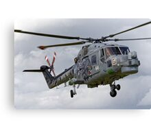RN Westland Lynx HMA.8 DSP 'The Black Cats' Canvas Print