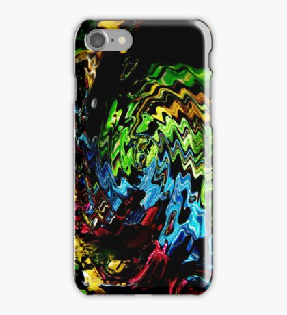 Colourful Water Droplets Abstract Art iPhone Case/Skin