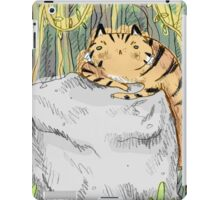 Lazy Tiger iPad Case/Skin