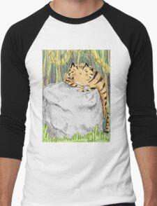 Lazy Tiger Men's Baseball ¾ T-Shirt