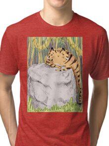 Lazy Tiger Tri-blend T-Shirt