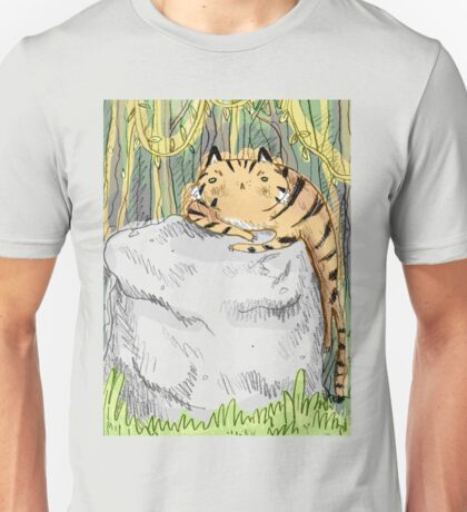 Lazy Tiger Unisex T-Shirt