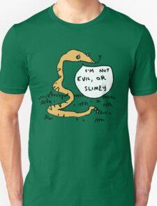 Snakes Aren't Evil Unisex T-Shirt