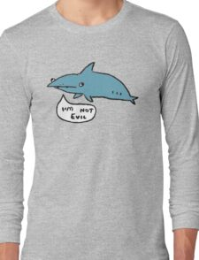 Sharks Aren't Evil Long Sleeve T-Shirt