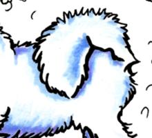 Samoyed :: Totally Hairifying Sticker