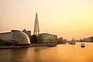 London at Dusk by Svetlana Sewell