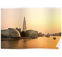London at Dusk Poster