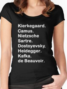 Existentialist 2 Women's Fitted Scoop T-Shirt