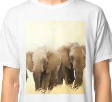 Wild nature - elephants Classic T-Shirt