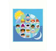 Small World After all... Art Print