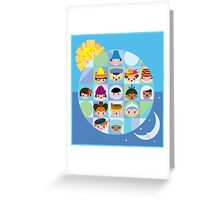 Small World After all... Greeting Card