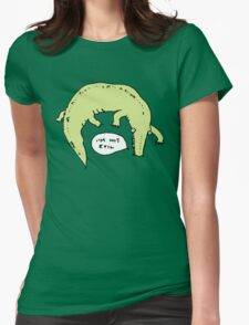 Crocodiles Aren't Evil Womens Fitted T-Shirt