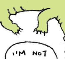 Crocodiles Aren't Evil Sticker