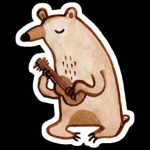 Ukulele Bear by Sophie Corrigan
