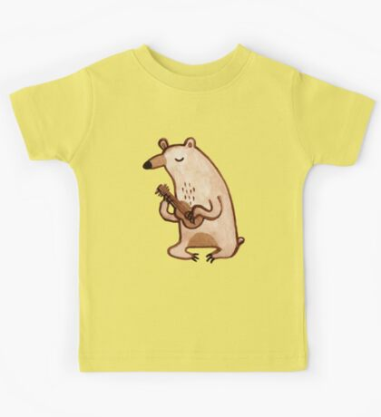 Ukulele Bear Kids Tee