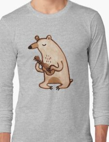 Ukulele Bear Long Sleeve T-Shirt