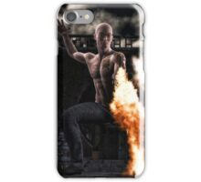 Kung Fu Man iPhone Case/Skin