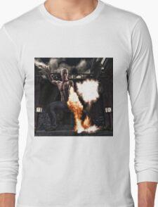Kung Fu Man Long Sleeve T-Shirt