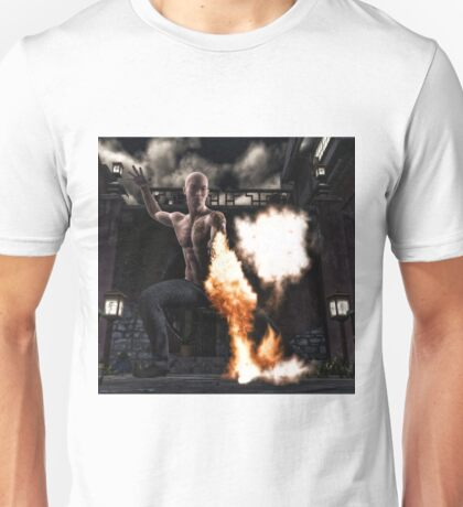 Kung Fu Man Unisex T-Shirt