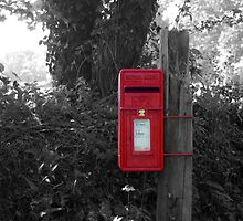 The Post Box by Paul Howarth
