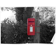 The Post Box Poster